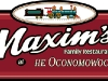 maxims-family-restaurant-oconomowoc-sign