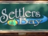 Settlers-bay-sand-blasted-sign