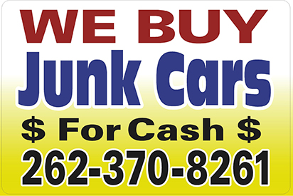 We Buy Cars In On 28 Images Oconomowoc Sign Company